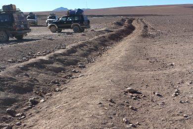 Chile and Bolivia Atacama Border