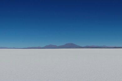 Uyuni Salt Flats pano