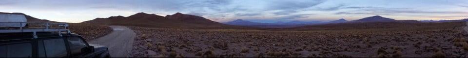 Bolivia Altiplano Sunset