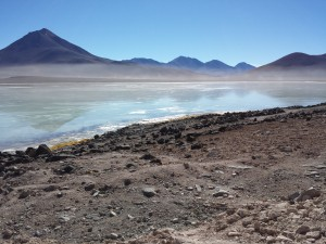 Lake in Bolivia Atacama