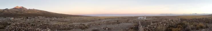 Salt Flats at dusk Tahua